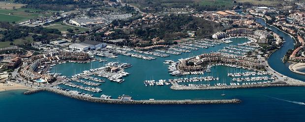 Port marines de cogolin toutes les informations sur le port - Meteo marine port camargue saint raphael ...