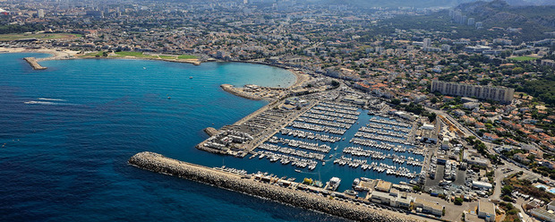 Port marseille la pointe rouge toutes les informations for Piscine marseille pointe rouge
