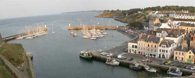 M t o plage belle ile port donnant oc an atlantique for Port donnant belle ile