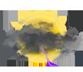 Très nuageux, tendance orageuse
