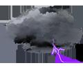 Ciel couvert, tendance orageuse