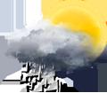 Faibles averses ou pluie faible intermittente