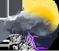 Averses ou pluies orageuses