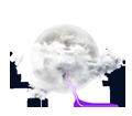 Nuages et ciel clair, tendance orageuse