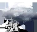 Pluie faible intermittente ou faibles averses