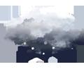 Faibles chutes de neige