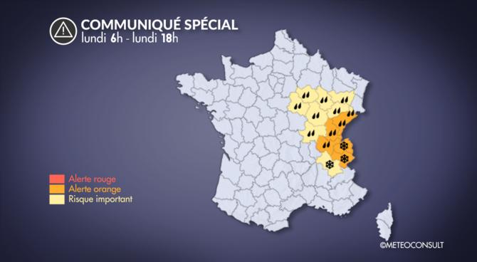 Quinze départements toujours en vigilance orange — Inondations