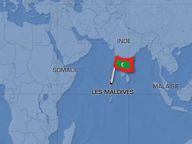 Actualités Etranger - Maldives - Catastrophe