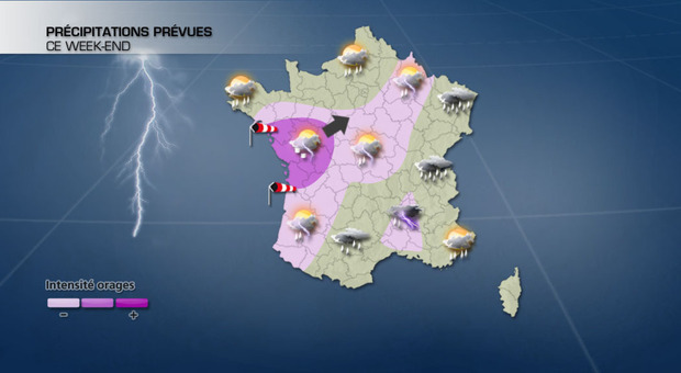 Actualit�s France - France - Orage