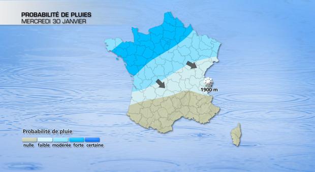 Actualit�s France - France - Pluie