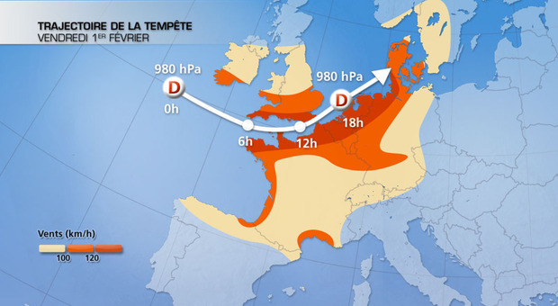 Actualit�s France - France - Temp�te