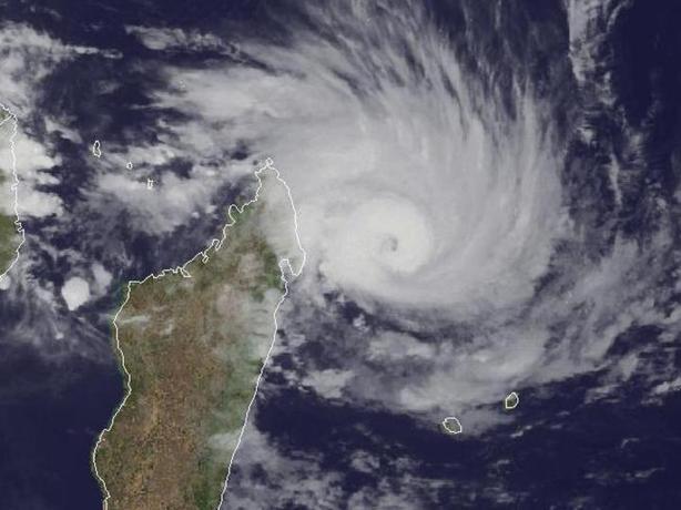tempête tropicale ocean indien