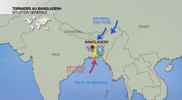 Actualités Etranger - Bangladesh - Tempête