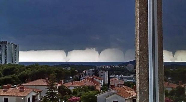 Actualités Etranger - Dubrovnik - Orage