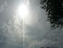 Le  soleil.....des  nuages.....et   chaleur....