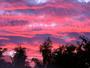 Ciel rouge en normandie