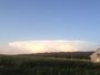 Un champignon dans le ciel