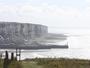 Les Falaises du Tr�port vues des falaises de Mers