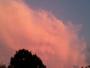 Nuage au coucher de soleil