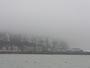 Grandes mar�es de lundi 31/08 et brouillard sur la falaise
