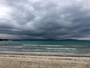 Mer et nuages