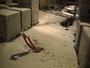 La premi�re neige en Alsace bossue en plaine.