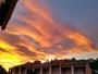 Le ciel flamboyant