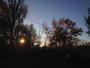 Lev�e de soleil d'automne