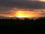 Nuage et lever du soleil