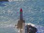 Le phare de Nice dans la Temp�te