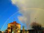 Super arc en ciel sur Saint Joseph de Porterie hier vers 18 heures .