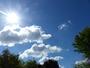 Temp�te de ciel bleu