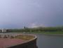 Grosse cellule orageuse multicellulaire Sur montigny Le Bretonneux ce soir