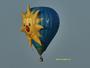 La montgolfière et le soleil !  de retour en Loire-Divatte  ( 44 )