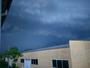 Tr�s violent orage � Mornant (69) le 24 Juin 2016