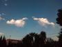 Nubes de atardecer