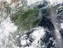 Canicule et typhon en Chine