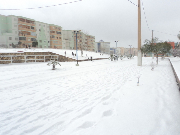 Reporters - Chlef - Neige