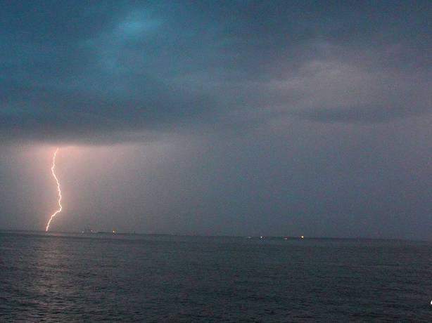 orage de grêle hier soir