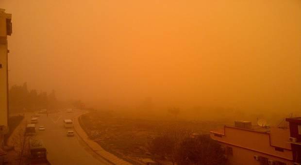 Impressionnante tempête de sable dans les wilayas du sud