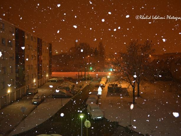 Actualit m t o neige dans l 39 est ce matin la cha ne m t o - Meteo belfort demain ...