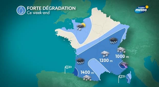 Les Hautes-Alpes placées en vigilance orange pluie-inondation