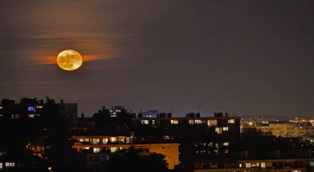 Astronomie: la Lune sera géante dans la nuit de lundi à mardi