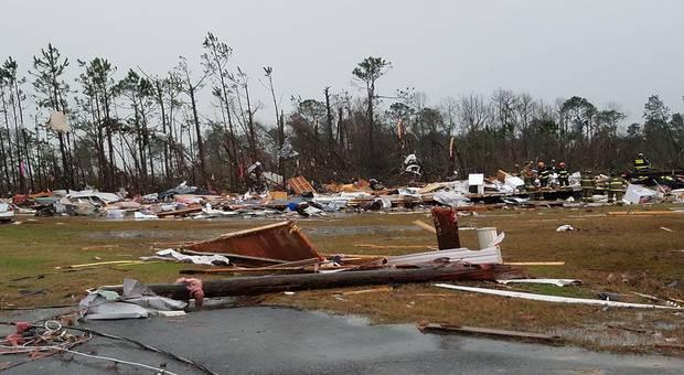 Géorgie et Mississippi : des tornades et orages font 18 morts