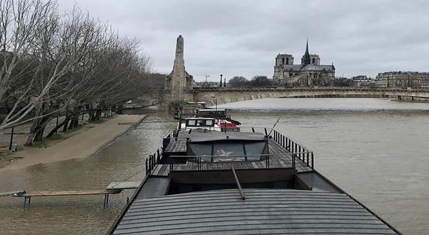 Le niveau de la Seine est monté jusqu'à 3,16 m — Paris