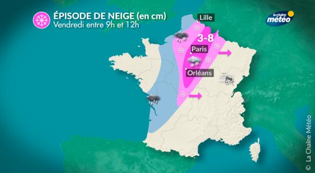 Le point sur les routes en Ile-de-France — Neige et verglas
