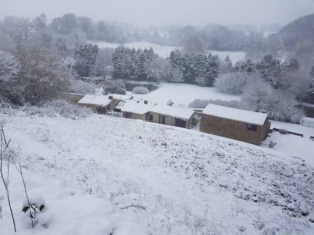 neige loire atlantique 2018