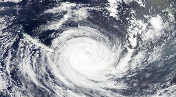 La Nouvelle-Calédonie touchées et la Nouvelle-Zélande — Gita