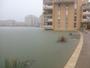 Inondation vasque port ariane