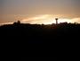 Coucher de soleil sur Saint Julia du Gras Capou.